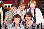 GIRLS NIGHT: Letting their hair down in Kirbys Brogue Inn, Tralee, on Saturday evening for Womens Christmas were, front: Betty OSullivan and Mary McBride. Back l-r: Patricia Casey, Narrie Ryan and Louise Kelly, all from Tralee..