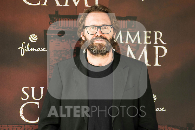 "Italian director of the film Alberto Marini during the presentation of the film ""Summer Camp"" at Cines Paz in Madrid. June 06. 2016. (ALTERPHOTOS/Borja B.Hojas)"