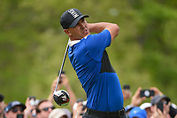 Brooks Koepka (USA) watches his tee shot on 6 during round 4 of the 2019 PGA Championship, Bethpage Black Golf Course, New York, New York,  USA. 5/19/2019.<br /> Picture: Golffile | Ken Murray<br /> <br /> <br /> All photo usage must carry mandatory copyright credit (© Golffile | Ken Murray)