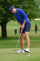 Carlota Ciganda (ESP) sinks her putt on 1 during the round 3 of the KPMG Women's PGA Championship, Hazeltine National, Chaska, Minnesota, USA. 6/22/2019.<br /> Picture: Golffile | Ken Murray<br /> <br /> <br /> All photo usage must carry mandatory copyright credit (© Golffile | Ken Murray)