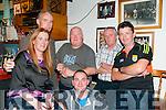 Sean McCarthy Festival: Pictured at McCArthy's Bar, Finuge during the Sean McCarthy Festival were Eileen Walsh, Noah Enright, John Gleeson, John McKenna, John Walsh & Jeremiah Bourke in front.