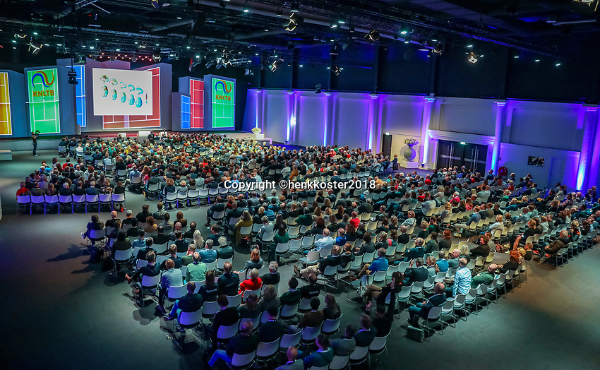Nieuwegein,  Netherlands, 24 November 2018, KNLTB Year congress KNLTB<br /> Photo: Tennisimages.com/Henk Koster