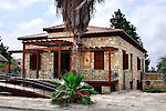 Travel stock photo of Cyprus Wine Museum exterior Limassol area Cyprus 2007