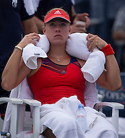 Angelique Kerber<br /> Tennis - US Open  - Grand Slam -  Flushing Meadows  2013 -  New York - USA - United States of America - Sunday 1st September 2013. <br /> &copy; AMN Images, 8 Cedar Court, Somerset Road, London, SW19 5HU<br /> Tel - +44 7843383012<br /> mfrey@advantagemedianet.com<br /> www.amnimages.photoshelter.com<br /> www.advantagemedianet.com<br /> www.tennishead.net
