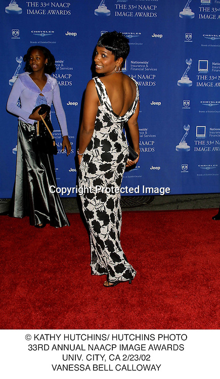 © KATHY HUTCHINS/ HUTCHINS PHOTO.33RD ANNUAL NAACP IMAGE AWARDS.UNIV. CITY, CA 2/23/02.VANESSA BELL CALLOWAY