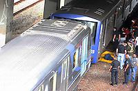 Sao paulo, sp, 16/05/12, acidente metro. Duas composicoes do Metro bateram na manha de hj proximo a estacao Carrao do Metro, varias vitimas. Luiz GUarnieri/ Brazil Photo Press
