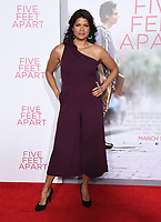 07 March 2019 - Westwood, California - Andrea Navedo. &quot;Five Feet Apart&quot; Los Angeles Premiere held at the Fox Bruin Theatre.  <br /> CAP/ADM/BT<br /> &copy;BT/ADM/Capital Pictures
