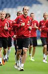 Roman Hubnik at Hampden for Czech training