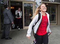 Winnipeg, Canada - June 2, 2015: The USWNT travels to Winnipeg, Canada for the FIFA Women's World Cup.