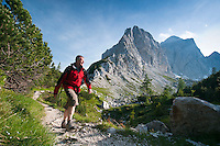 Following the Soca river from the Julian Alps to the Adriatic Sea of Slovenia
