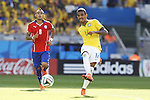Luiz Gustavo (BRA), JUNE 28, 2014 - Football / Soccer : FIFA World Cup Brazil 2014 round of 16 match between Brazil and Chile at the Mineirao Stadium in Belo Horizonte, Brazil. (Photo by AFLO)