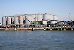 Storage tanks, Port of Rotterdam, Netherlands