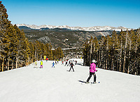 Skiing at Breckenridge, Colorado, Thursday, March 22, 2012...Photo by Matt Nager