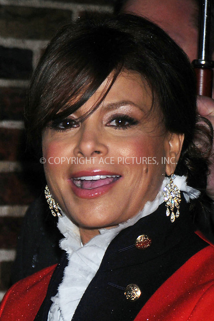 WWW.ACEPIXS.COM . . . . .  ....December 10 2008, New York City......TV personality Paula Abdul made an appearance at the 'Late Show with David Letterman' on December 10 2008 in New York City....Please byline: KRISTIN CALLAHAN - ACEPIXS.COM.... *** ***..Ace Pictures, Inc:  ..tel: (212) 243 8787..e-mail: info@acepixs.com..web: http://www.acepixs.com