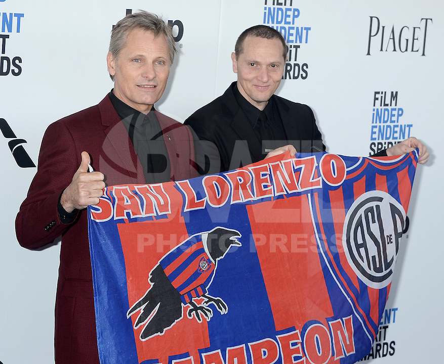 SANTA MONICA, 25.02.20-17 - SPIRIT-AWARDS - Viggo Mortensen durante Film Independent Spirit Awards em Santa Monica na California nos Estados Unidos (Foto: Gilbert Flores/Brazil Photo Press)