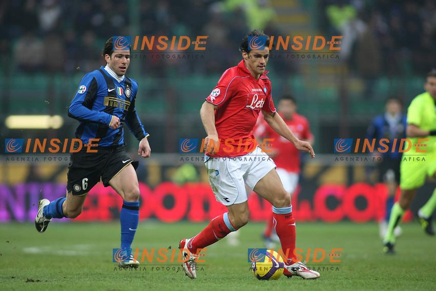 Maxwell Maggio<br /> Milano 30/11/2008 &quot;Stadio Giuseppe Meazza&quot;<br /> Campionato Serie A Tim 2008/2009<br /> Inter-Napoli<br /> Foto Prater Insidefoto