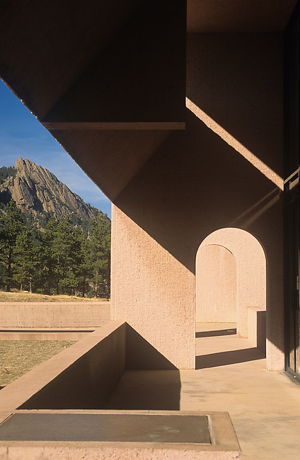 National Center for Atmospheric Research, Flatirons, Boulder, Colorado