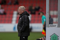 Crawley manager Dermot Drummy during the Sky Bet League 2 match between Cheltenham Town and Crawley Town at the LCI Rail Stadium, Cheltenham, England on 15 October 2016. Photo by Mark  Hawkins.