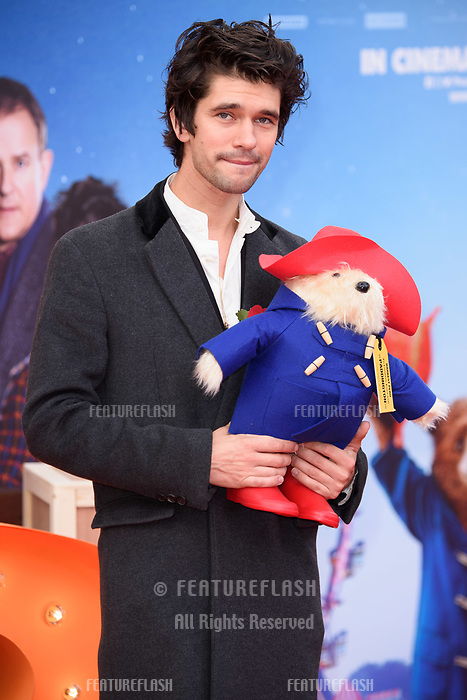 Ben Wishaw at the &quot;Paddington 2&quot; premiere at the NFT South Bank, London, UK. <br /> 05 November  2017<br /> Picture: Steve Vas/Featureflash/SilverHub 0208 004 5359 sales@silverhubmedia.com