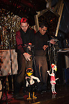Bob Baker's Marionettes in David Arquette's Bootsy Bellows Dinner Theater Extravaganza on the Sunset Strip in West Hollywood, CA