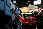 Film crew shooting the 2007 MINI Cooper at the North American International Auto Show, 2007