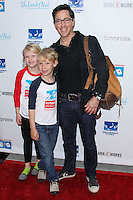 LOS ANGELES, CA, USA - APRIL 27: Eliza Bucatinsky, Jonah Bucatinsky, Dan Bucatinsky at the Milk + Bookies 5th Annual Story Time Celebration held at the Skirball Cultural Center on April 27, 2014 in Los Angeles, California, United States. (Photo by Xavier Collin/Celebrity Monitor)