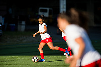 Seattle, WA - Wednesday, June 28, 2017: Samantha Johnson during a regular season National Women's Soccer League (NWSL) match between the Seattle Reign FC and the Chicago Red Stars at Memorial Stadium.