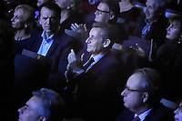 Nicolas SARKOZY present dans la salle - Gala de l'Association pour la Recherche sur Alzheimer 30 janvier 2017 - Salle Pleyel - Paris - France # GALA DE L'ASSOCIATION POUR LA RECHERCHE SUR ALZHEIMER A PARIS