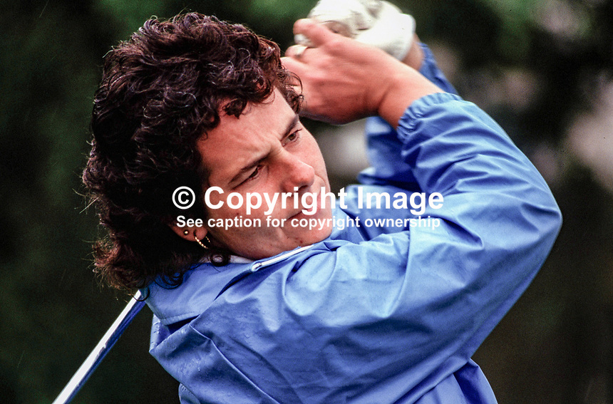 Dale Reid, professional golfer, Scotland, UK, 19870511DR..Copyright Image from Victor Patterson, 54 Dorchester Park, Belfast, UK, BT9 6RJ..Tel: +44 28 9066 1296.Mob: +44 7802 353836.Voicemail +44 20 8816 7153.Skype: victorpattersonbelfast.Email: victorpatterson@me.com.Email: victorpatterson@ireland.com (back-up)..IMPORTANT: If you wish to use this image or any other of my images please go to www.victorpatterson.com and click on the Terms & Conditions. Then contact me by email or phone with the reference number(s) of the image(s) concerned.