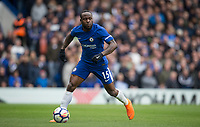 Victor Moses of Chelsea during the Premier League match between Chelsea and Tottenham Hotspur at Stamford Bridge, London, England on 1 April 2018. Photo by Andy Rowland.