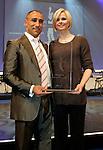 Die deutsche Schwimmerin Britta Steffen beendet ihre Karriere - Archiv aus  13.12.2008<br />  <br /> Champions 2008<br /> Arthur Abraham, Britta Steffen<br /> <br /> <br />  <br /> <br />   <br /> Foto &copy; nph /  Schulz