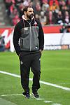14.01.2018, RheinEnergieStadion, Koeln, GER, 1.FBL., 1. FC K&ouml;ln vs. Borussia M&ouml;nchengladbach<br /> <br /> im Bild / picture shows: <br /> Stefan Ruthenbeck (&Uuml;bergangstrainer 1.FC K&ouml;ln),<br /> <br /> <br /> Foto &copy; nordphoto / Meuter