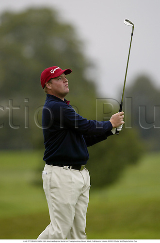 CARL PETTERSSON (SWE), 2002 American Express World Golf Championships, Mount Juliet, Co Kilkenny, Ireland, 020922. Photo: Neil Tingle/Action Plus...golf golfer player............................. ........................