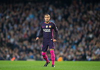 Rafinha of Barcelona during the UEFA Champions League match between Manchester City and Barcelona at the Etihad Stadium, Manchester, England on 1 November 2016. Photo by Andy Rowland / PRiME Media Images.