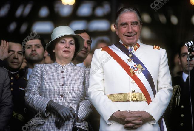 General Augusto PINOCHET, Santiago, Chile, September 1983.