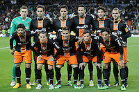 Valencia's team photo during King's Cup match. January 15, 2013. (ALTERPHOTOS/Alvaro Hernandez) /NortePhoto