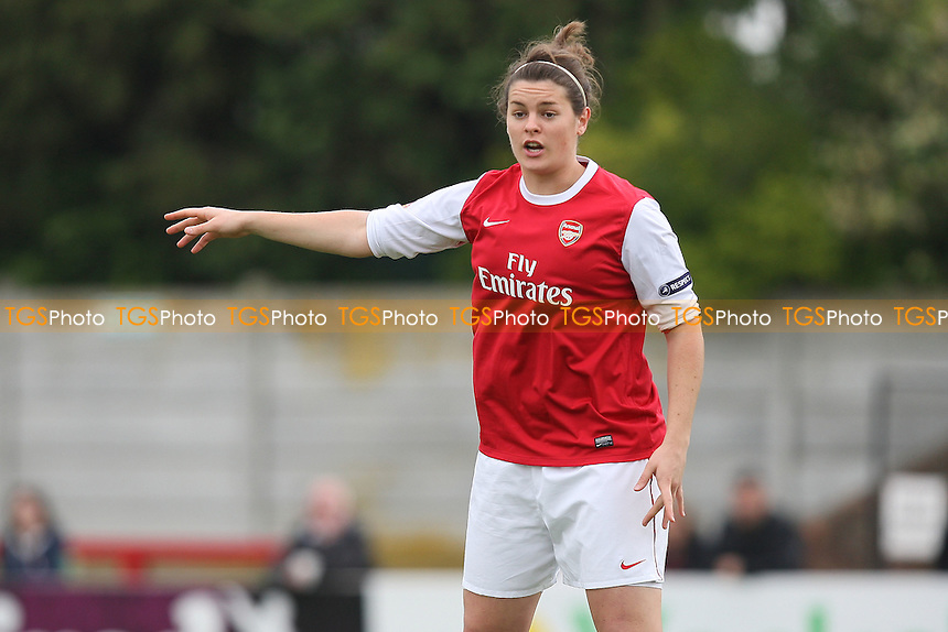 Jennifer Beattie of Arsenal - Arsenal Ladies vs Olympique Lyonnais - UEFA Women's Champions League Semi-Final 2nd Leg at Boreham Wood FC - 16/04/11 - MANDATORY CREDIT: Gavin Ellis/TGSPHOTO - Self billing applies where appropriate - Tel: 0845 094 6026