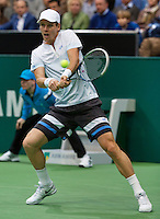 Rotterdam, The Netherlands. 15.02.2014. Tomas Berdych(TSJ) at the ABN AMRO World tennis Tournament<br /> Photo:Tennisimages/Henk Koster
