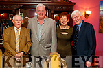 John Nash (Limerick) with Patrick Cummins, Ann Cummins and Jackie Hourigan (Ballybunion), pictured at the Women in Media event, in Ballybunion on Saturday last.