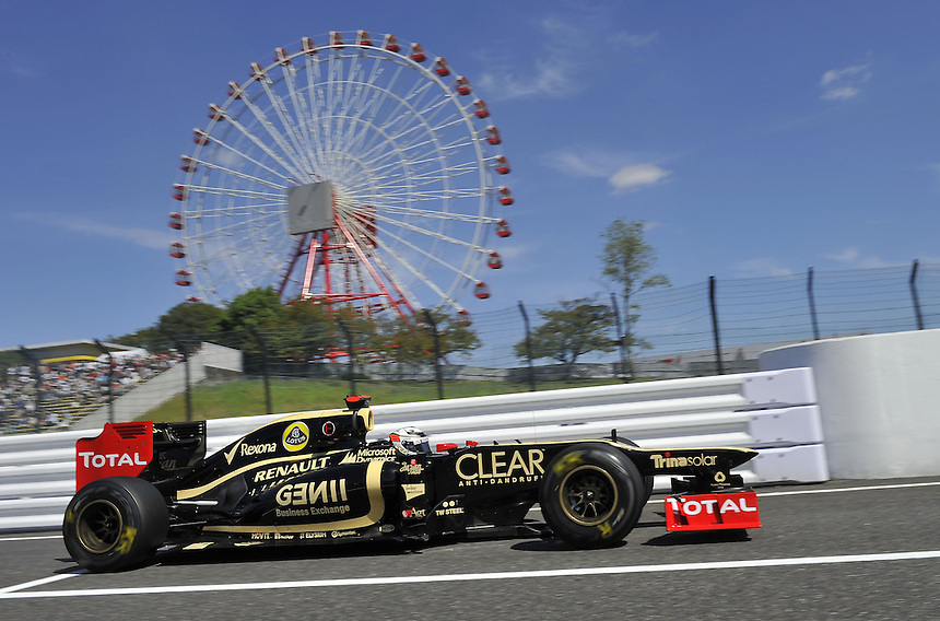 .Kimi Raikkonen (FIN), Lotus Renault F1 Team ..2012 FIA Formula One World Championship - Japanese Grand Prix - Suzuka Circuit - Suzuka - Japan - Friday 5th October 2012...