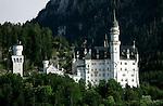 A view of Neuschwanstein castle in Germany, August 06, 2008. (ALTERPHOTOS/Alvaro Hernandez)