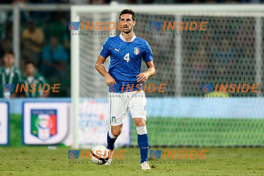 Davide Astori Italia <br /> Palermo 06-09-2013 Stadio La Favorita  - qualificazione mondiale Brasile 2014 / Italia-Bulgaria / foto Daniele Buffa/Image Sport/Insidefoto