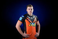 Picture by Allan McKenzie/SWpix.com - 09/01/18 - Rugby League - Super League - Castleford Media Day 2018 - A1 Football Factory, Castleford, England - Calum Turner.