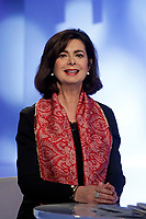 Laura Boldrini<br /> Roma 19/01/2018. Trasmissione tv La7 'L'aria che tira'.<br /> Rome January 19th 2018. President of the Italian Chamber of Deputies appears as a guest on the talk show ''L'aria che tira' in Rome<br /> Foto Samantha Zucchi Insidefoto