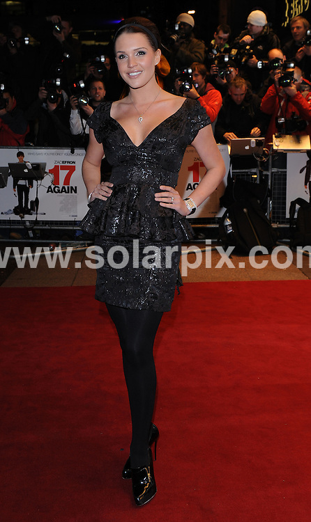 **ALL ROUND PICTURES FROM SOLARPIX.COM**.**WORLDWIDE SYNDICATION RIGHTS**.the UK Film Premiere of 17 Again at the Odeon West End, London, UK. 26 March 2009..This pic: Danielle Lloyd..JOB REF: 8724 SSD     DATE: 26_03_2009.**MUST CREDIT SOLARPIX.COM OR DOUBLE FEE WILL BE CHARGED**.**ONLINE USAGE FEE GBP 50.00 PER PICTURE - NOTIFICATION OF USAGE TO PHOTO @ SOLARPIX.COM**.**CALL SOLARPIX : +34 952 811 768 or LOW RATE FROM UK 0844 617 7637**