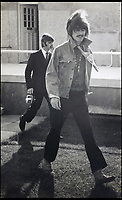 BNPS.co.uk (01202 558833)<br /> Pic: Hansons/BNPS<br /> <br /> George Harrison.<br /> <br /> Fascinating never before seen photographs of the Beatles during their Magical Mystery Tour have been unearthed after 50 years.<br /> <br /> The intimate snaps of the Fab Four were taken by a Beatles fan who was on holiday with his family at the Cornish seaside resort of Newquay at the time.<br /> <br /> The Beatles were in the town to record scenes for their Magical Mystery Tour film which was broadcast on Boxing Day 1967.<br /> <br /> Interestingly, the fan managed to capture the foursome in a private moment when they were not being mobbed by crowds of adoring fans.<br /> <br /> The images and their copyright have now emerged for auction and are tipped to sell for &pound;800.<br /> <br /> The vendor, who was in his late 20s at the time, snapped the Beatles entering The Atlantic Hotel in Newquay in September 1967.