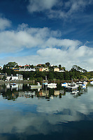Portree which is the main town on the Isle of Skye, Inner Hebrides, Highland<br /> <br /> Copyright www.scottishhorizons.co.uk/Keith Fergus 2011 All Rights Reserved