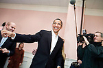Sunday December 10th, 2006,  Portsmouth, New Hampshire&#xA;Illinois Senator Barack Obama visited Portsmouth, New Hampshire today to sign his new book and speak a message of hope to his assembled supporters who helped him sell out two packed convention halls. &#xA; He signed books and visited a local coffee shop on his way to Manchester for a New Hampshire Democratic Party fund raiser.<br />