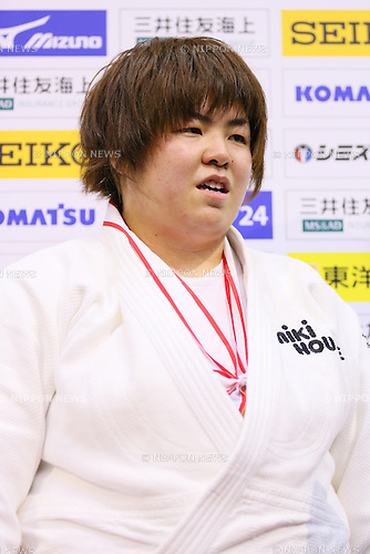 Kanae Yamabe,<br /> APRIL 6, 2014 - Judo : <br /> All Japan Selected Judo Championships <br /> Women's +78kg <br /> at Fukuoka Convention Center, Fukuoka, Japan. <br /> (Photo by Yohei Osada/AFLO SPORT)