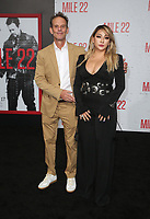 "9 August 2018-  Westwood, California - Peter Berg, CL. Premiere Of STX Films' ""Mile 22"" held at The Regency Village Theatre. Photo Credit: Faye Sadou/AdMedia"